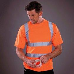 HVJ410 - T-shirt à manches courtes haute visibilité (HVJ410)