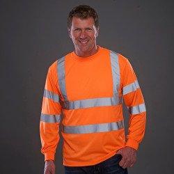 HVJ420 - T-shirt à manches longues haute visibilité (HVJ420)