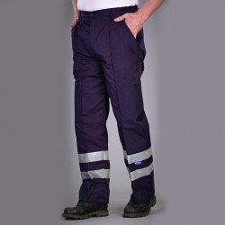 BS015T - Pantalon en polyester/coton réfléchissant (BS015T)
