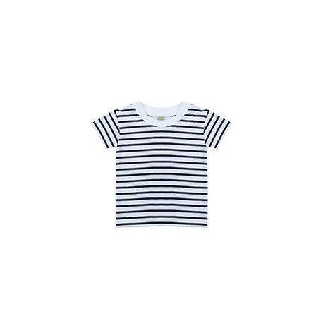 LW27T - T-shirt à manches courtes rayé