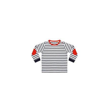 LW28T - T-shirt rayé à manches longues
