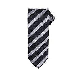 PR783 - Cravate à motif rayé gauffré