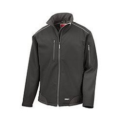 R124A - Veste softshell indéchirable