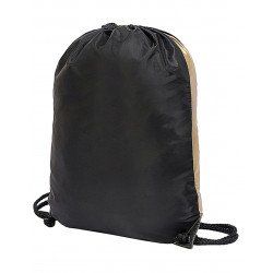 5891 - Contrast Drawstring Backpack