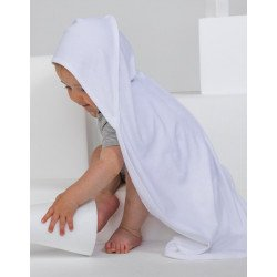 BZ24 - Baby Organic Hooded Blanket