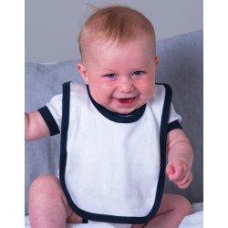 BZ16C - Baby Bib with Ties
