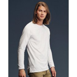 5628 - T-shirt Fashion Basique Long & Lean manches longues raglan