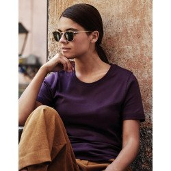 580 - Ladies Interlock T-Shirt