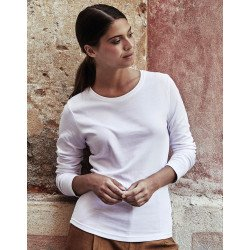 590 - Ladies LS Interlock T-Shirt