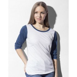 TF-LSL-O-TB140 - Jessica Womens Baseball T-Shirt