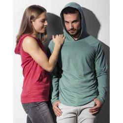 TU-LSL-H-TB042 - Cecil Unisex LS Hooded T-Shirt