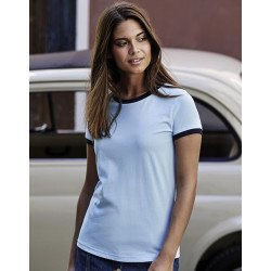 5071 - Ladies Ringer Tee