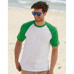 61-026-0 - T-shirt baseball manches courtes