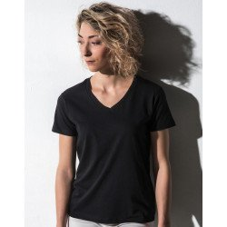 TF-SSL-V-CO115 - Veronique Womens V-Neck T-Shirt