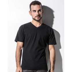 TM-SSL-V-OG018 - James Mens Organic V-Neck T-Shirt