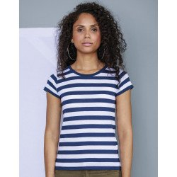 M110S - Womens Stripy T