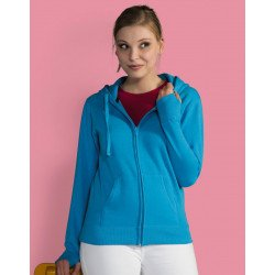 SG28F - Ladies Heavyweight Full Zip Hoodie