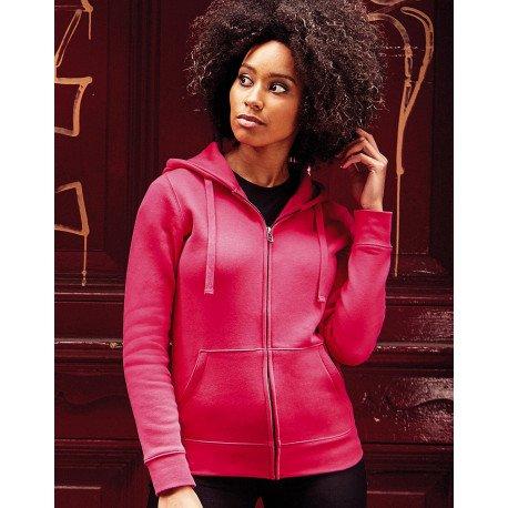 R-266F-0 - Ladies Authentic Zipped Hood