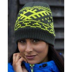 R371X - Bonnet en tricot Nordic