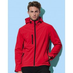 ST5240 - Active Softest Shell Hooded Jacket