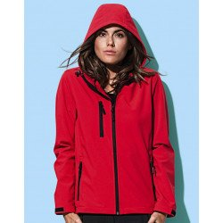 ST5340 - Womens Active Softest Shell Hooded Jacket