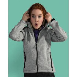 SG45F - Ladies Knitted Bonded Fleece