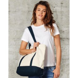CC-4739-BB - Canvas Shopping Bag