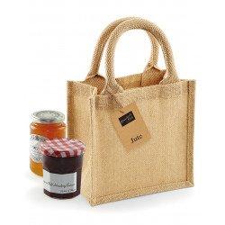 W411 - Jute Petite Gift Bag