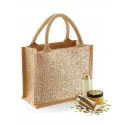 W431 - Shimmer Jute Mini Gift Bag