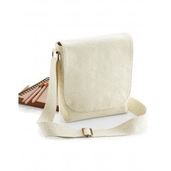 W460 - FairTrade Cotton Canvas Mini Messenger