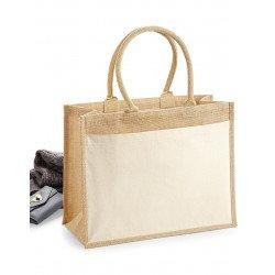 W427 - Cotton Pocket Jute Shopper