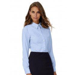 SWO03 - Oxford LSL/women Shirt