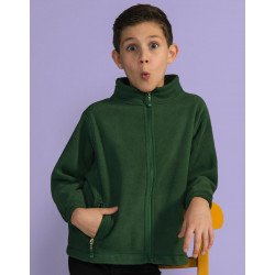 SG80K - Kids Full Zip Fleece