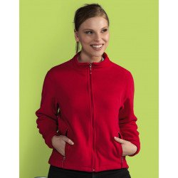 SG80F - Ladies Full Zip Fleece