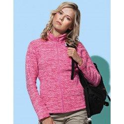 ST5140 - Active Melange Fleece Jacket Women
