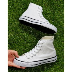 SGF1 - High Top Printable Canvas Shoe/Junior