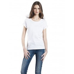 EP12 - WOMEN'S ROLLED SLEEVE T-SHIRT