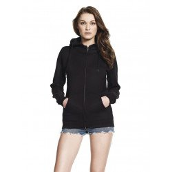 N54Z - WOMEN'S HIGH NECK ZIP-UP HOODY