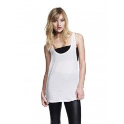 N92 - WOMEN'S LOW CUT RACERBACK TENCEL VEST