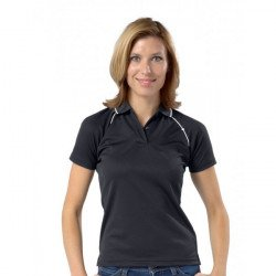RK175 - DELUXE LADIES PIPED WICKING POLO
