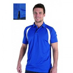 RK180 - DELUXE CONTRAST WICKING POLO
