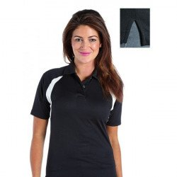 RK185 - DELUXE CONTRAST LADIES WICKING POLO