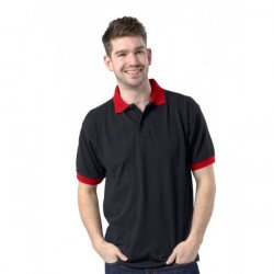 RK9 - DELUXE CONTRAST POLY/COTTON POLO