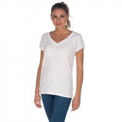 T219 - Lady marin V neck Tee shirt 140