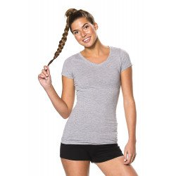 ST603 - Long Stretch V-neck