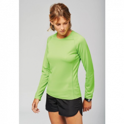 PA444 - T-shirt Sport respirant Manches longues 140 Femme PROACT