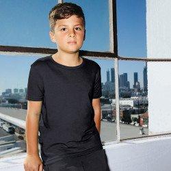 2201W - T-shirt jersey à manches courtes pour jeune