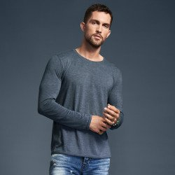 6740 - T-shirt manches longues Tri-blend