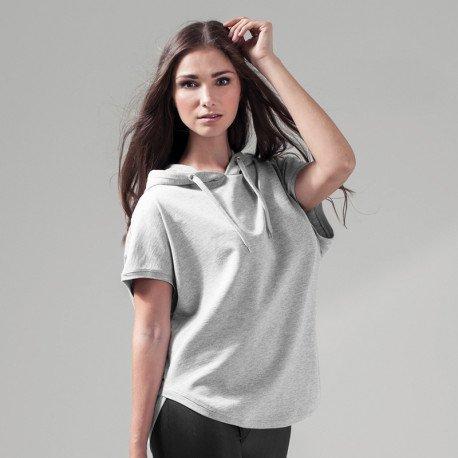 designer fashion great deals 2017 latest design BY034 - Sweat à capuche Femme sans manches - Shirt-Label