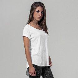 BY036 - T-shirt Femme long décontracté